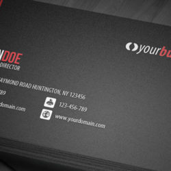 line-corporate-business-card
